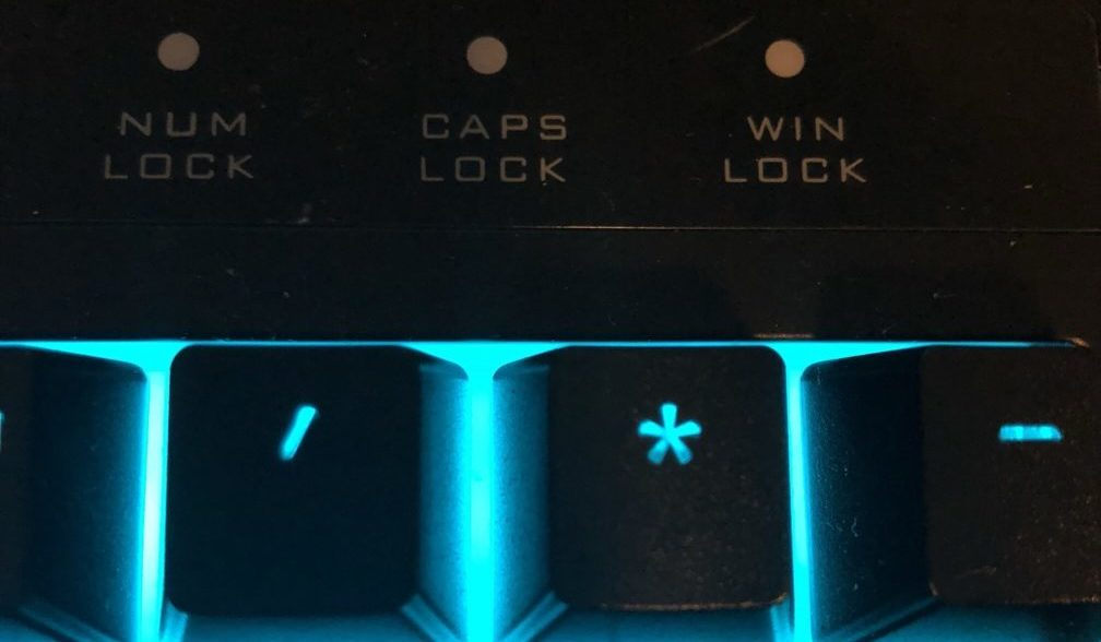 Win Lock Key on Keyboard